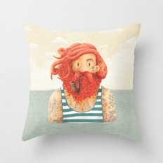 Octopus Throw Pillow