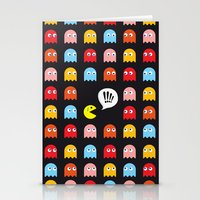 Pac-Man Trapped Stationery Cards