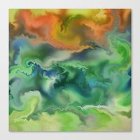 Movement of The Natural World Canvas Print