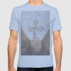 Checkpoint Mens Fitted Tee Athletic Blue SMALL