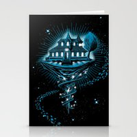 House Of Leaves Stationery Cards