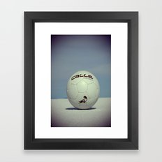 Yippe-Calle. Framed Art Print