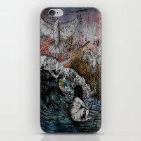 Feet of Crows iPhone & iPod Skin