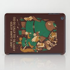 oo-de-lally (brown version) iPad Case
