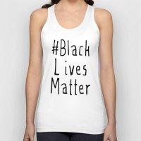 #Black Lives Matter Unisex Tank Top