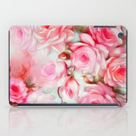 Shabby Chic Pink iPad Case