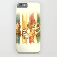 iPhone Cases featuring House Brawl by Alice X. Zhang