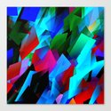 cubism in color Canvas Print