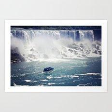 The Niagara Art Print