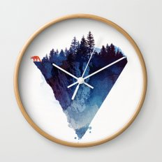 Near to the edge Wall Clock