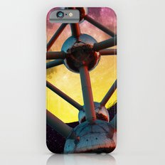 Atomium in space iPhone 6 Slim Case