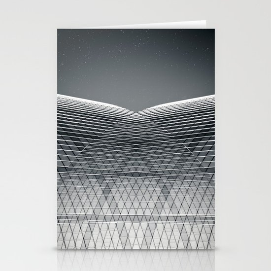 abstract building II Stationery Card
