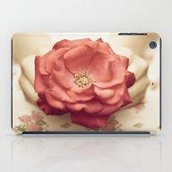 Rose In Her Hands III iPad Case
