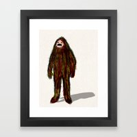 Forest Creature Framed Art Print