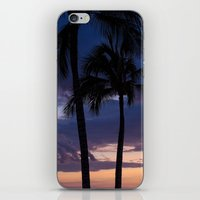 Palms at Dusk iPhone & iPod Skin