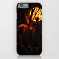 iPhone & iPod Case featuring The Hunter by nicebleed