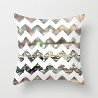 Afterparty Chevron Throw Pillow
