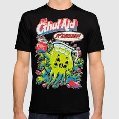 CTHUL-AID Mens Fitted Tee Black SMALL
