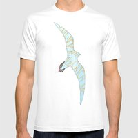 No, You'll Never Catch M… Mens Fitted Tee White SMALL