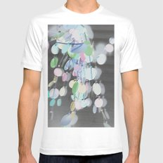 Inverted Decor SMALL White Mens Fitted Tee