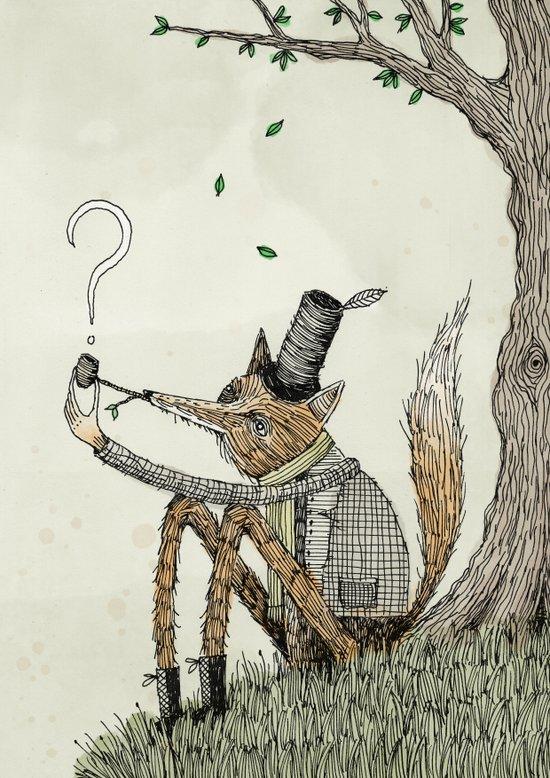 'Theories' Art Print