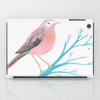 Chirpy Pink Bird iPad Case