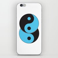 Reflections of Yin and Yang iPhone & iPod Skin