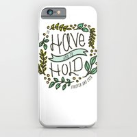 iPhone & iPod Case featuring To Have and Hold by a. peterson