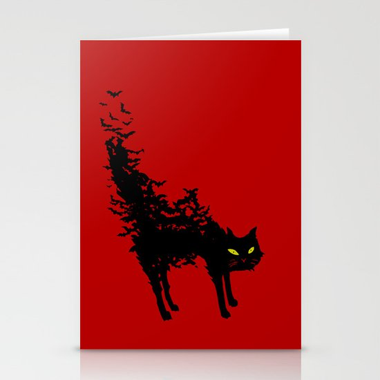 Freaking Meow Stationery Card