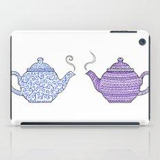 Patterned Teapots iPad Case