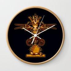 Burtons Totem Wall Clock