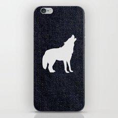 Jeans dog iPhone & iPod Skin