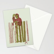 Billygoat with a blowtorch Stationery Cards
