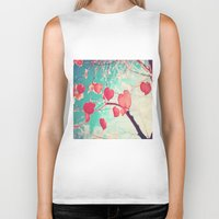 Our Hearts Are Autumn Le… Biker Tank