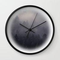 Eagle Mist Wall Clock
