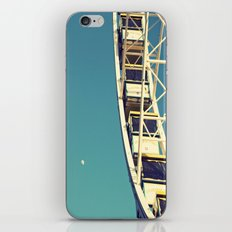 The sky, the moon and the Ferris Wheel iPhone & iPod Skin