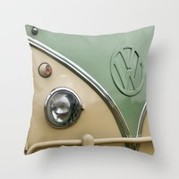 VW Camper Classic Throw Pillow
