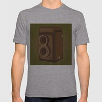 Rollei Mens Fitted Tee Athletic Grey SMALL