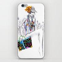 Tropic relief iPhone & iPod Skin