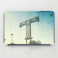 Texas T iPad Case