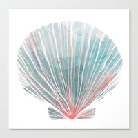 Shell Canvas Print