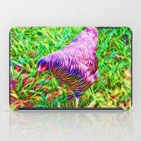 Hen On Grass iPad Case