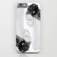 selene and eos (black and white) iPhone 6 Slim Case