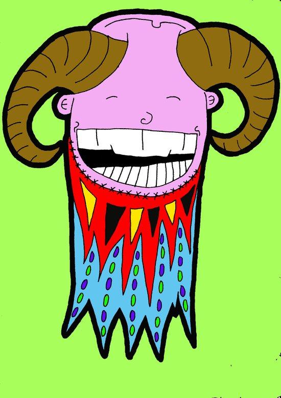 Goat beard Art Print
