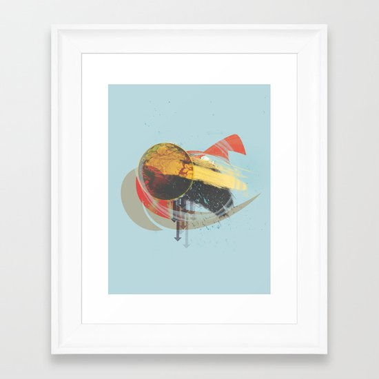 A Sweet Vignette Framed Art Print