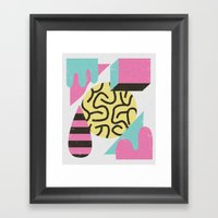 Postiaza Framed Art Print