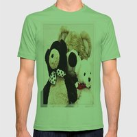 Bearily Bearily Mens Fitted Tee Grass SMALL