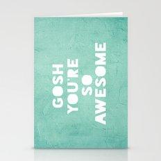 Gosh Stationery Cards