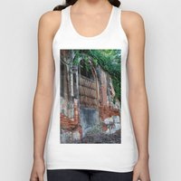 Old Colonial Building Unisex Tank Top
