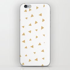 Gold Triangles iPhone & iPod Skin